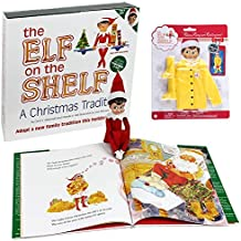 Elf on the Shelf Girl Elf Dress Up Set: Raincoat Set, Girl Scout Elf, And Elf on the Shelf Storybook