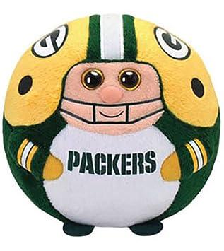 b3c4124dc4b Amazon.com  Ty Beanie Ballz Green Bay Packers Plush