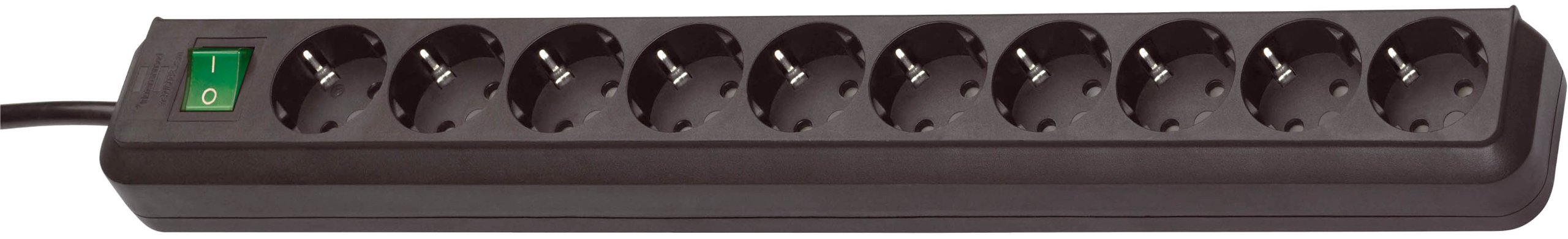 Brennenstuhl 1159300010 Regleta, 230 V, Negro, 50 cm product image