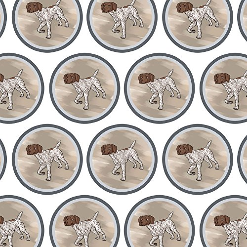 Premium Gift Wrap Wrapping Paper Roll Dog Puppy - German Shorthaired Pointer