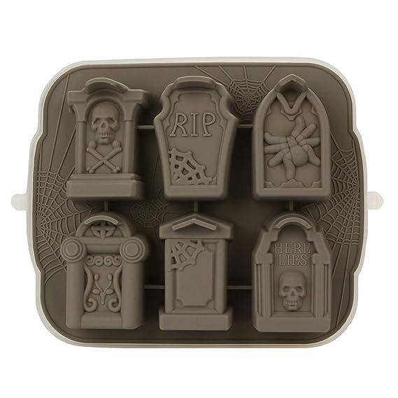 Amazon.com: DDLmax Cube Trays, Creativity 3D Tombstone Ice Cube Mold Wine Ice Cube Tray Maker Ice Tray: Kitchen & Dining