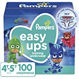 Pampers Easy Ups Training Pants Boys and Girls, 4T-5T (Size 6), 100 Count, Enormous Pack