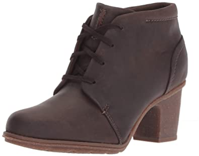 Clarks Femmes Bottes Couleur Marron Taupe Leather Taille 40