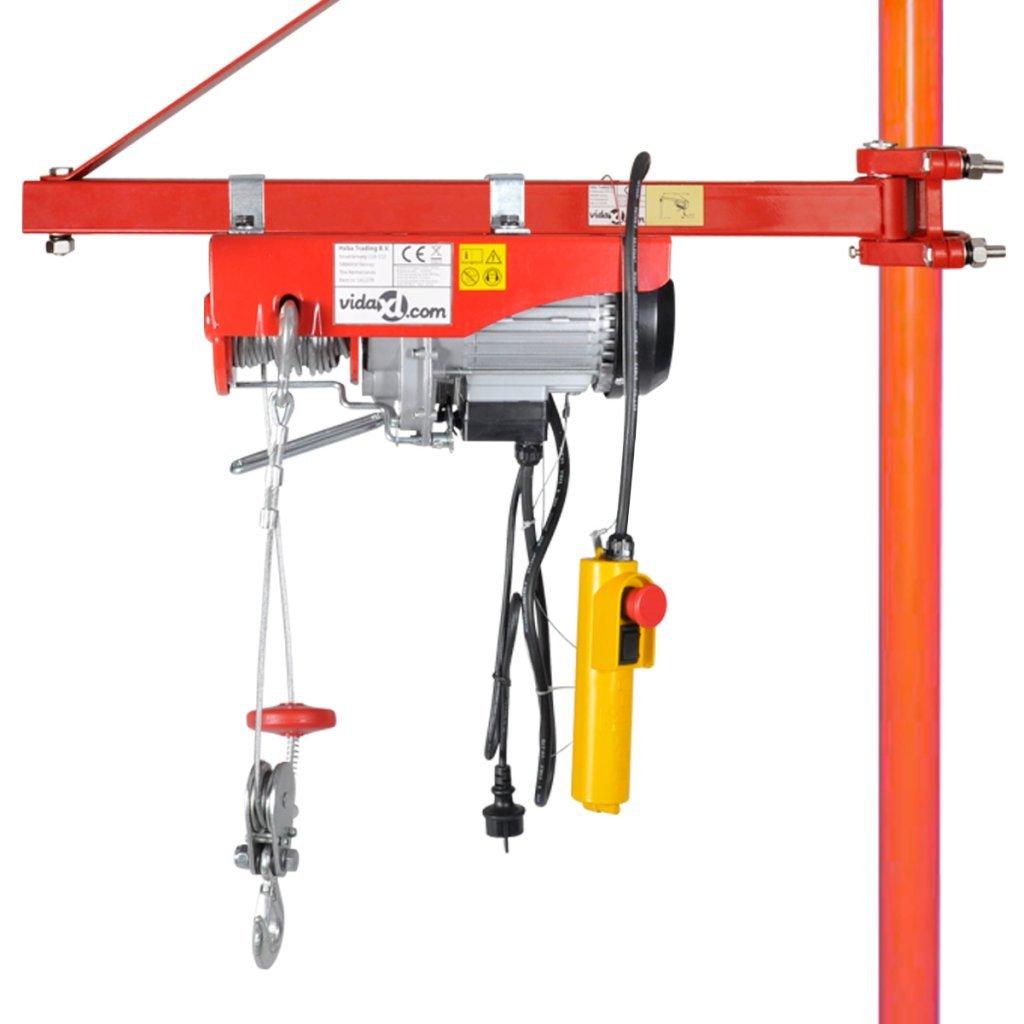 Hoist Frame 600 kg 180°Swivel Garage Lifting Jacking Crane Derrick Heavy Huty