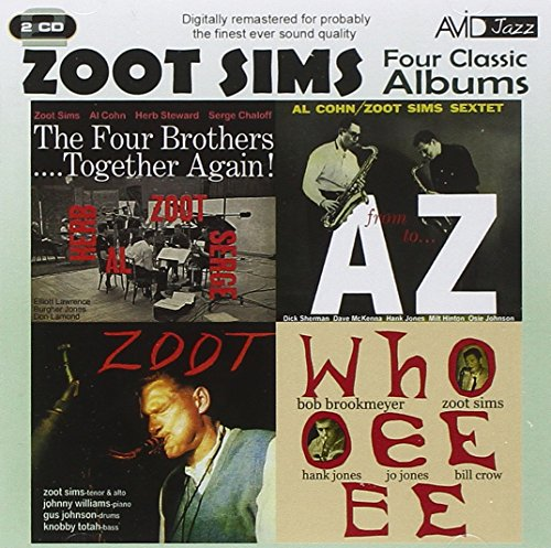 Price comparison product image Four Classic Albums - Zoot Sims