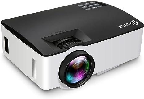 Proyector Full HD con Resolución de 800x480 Soporta 1080p 1500 ...