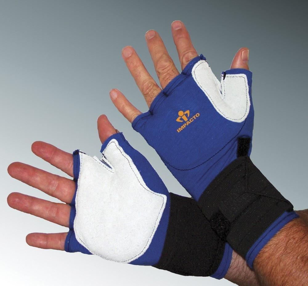 Impacto Ergonomic Anti-Impact Glove with Wrist Support - Large