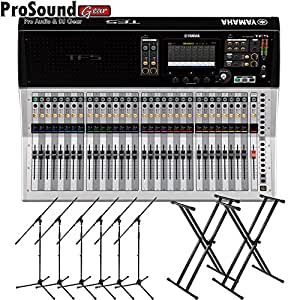 yamaha tf5 32 channels digital mixing console free 6 mic stand and 2 keyboard. Black Bedroom Furniture Sets. Home Design Ideas