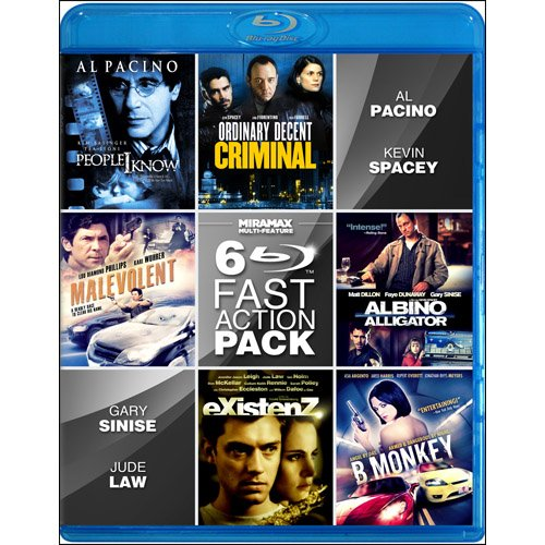 Miramax 6-Film Fast Action [Blu-ray] by Miramax