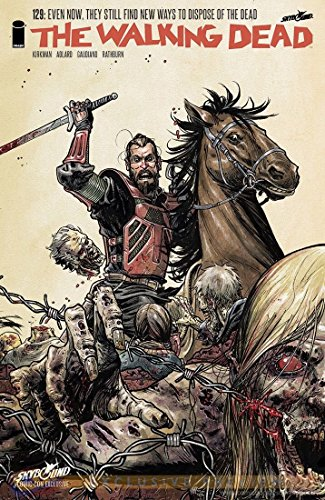 Walking Dead #129 2014 SDCC Exclusive Variant Cover Image Comics - Exclusive Variant Cover