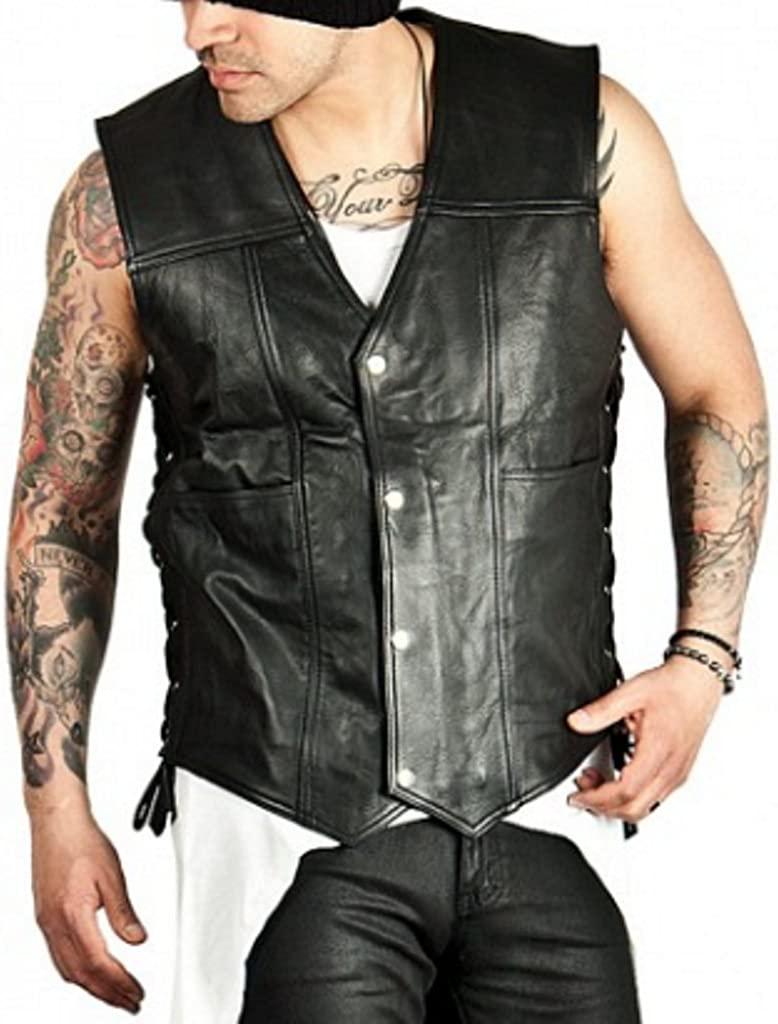 The Walking Dead Daryl Dixon Angel Real Leather Vest