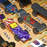 Pinewood Derby Weights 3 Ounce Tungsten Weights 1/4 Inch Car Cube Weights Incremental Derby Weight