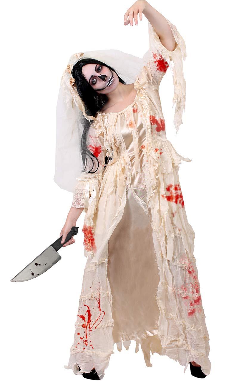 Halloween Bride.Heartbroken Bride Halloween Wedding Dress Costume Miss