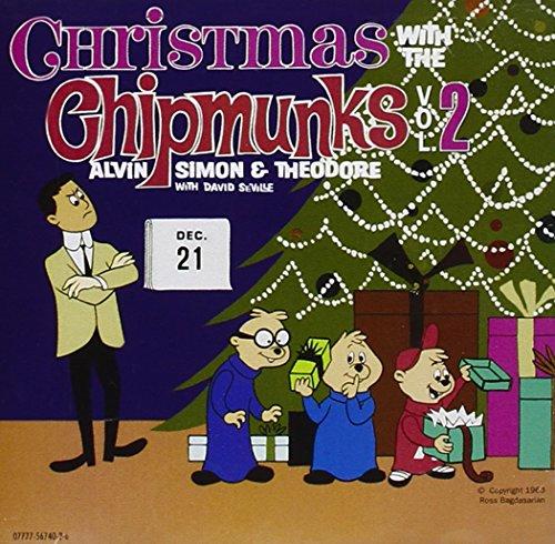 The Chipmunks, Dave Seville - Christmas With The Chipmunks, Vol. 2 ...