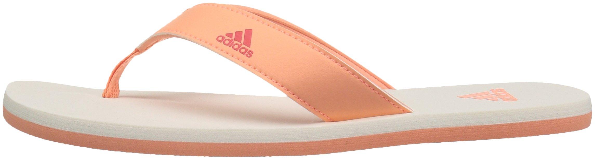 adidas Performance Unisex-Kids Beach Thong 2 K, White/Hi-Res Blue/White, 13 M US Little Kid by adidas (Image #5)