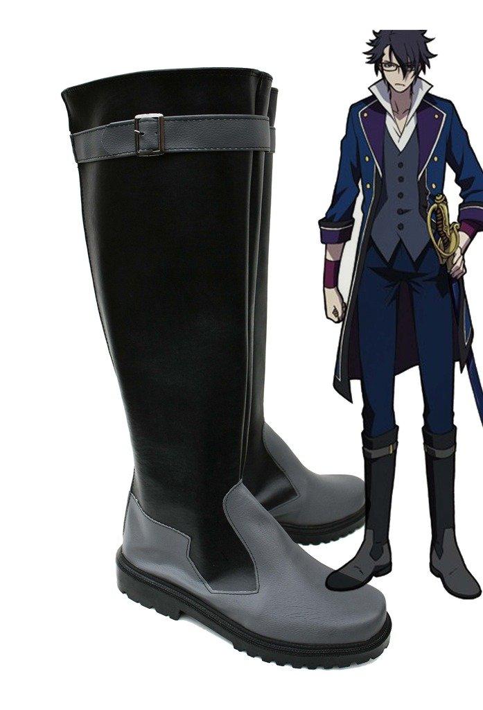 K RETURN OF KINGS Anime Fushimi Saruhiko Cosplay Shoes Boots Custom Made 8.5 B(M) US Female
