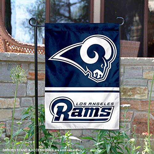 Rams Flag - Wincraft Los Angeles Rams Double Sided Garden Flag