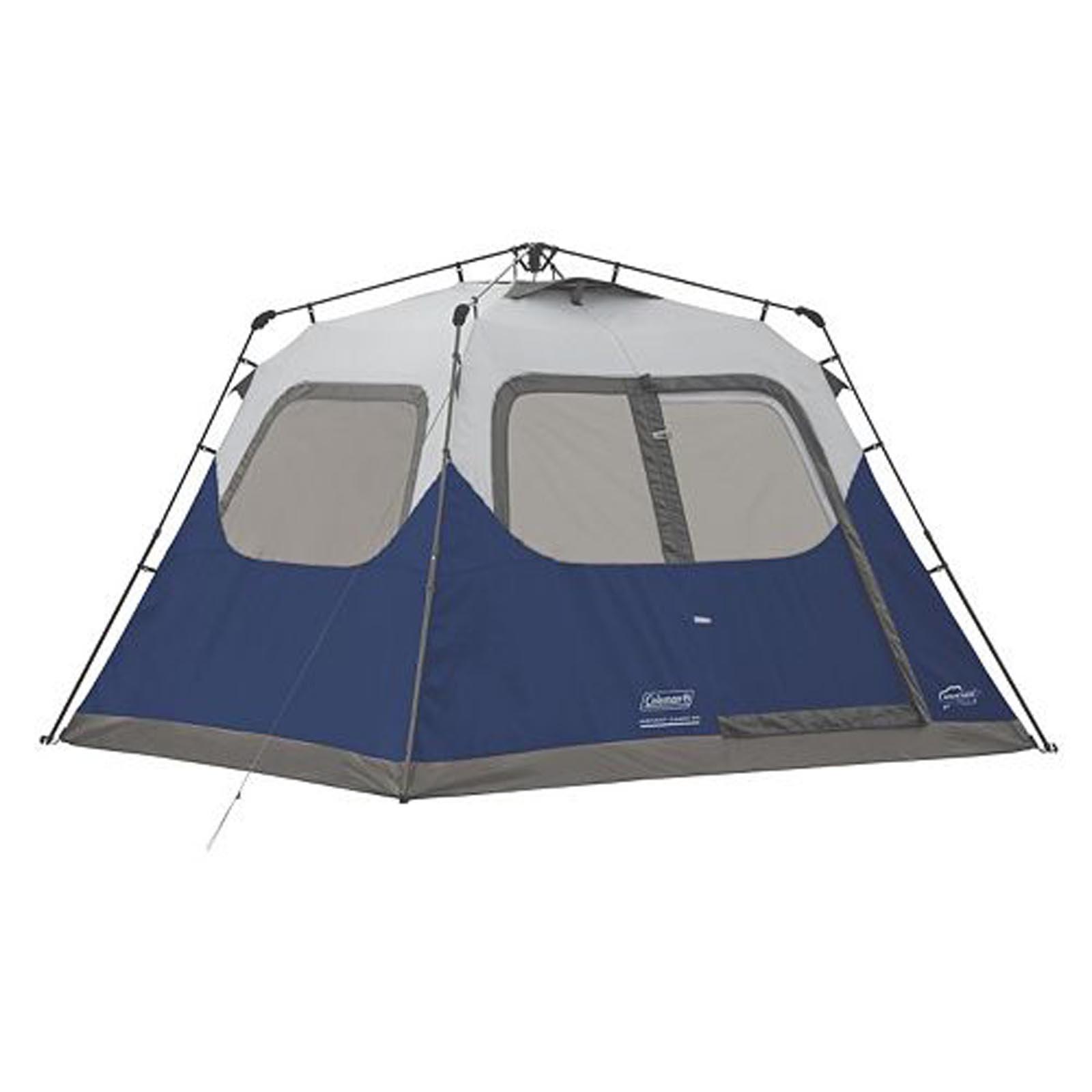 Coleman 6-Person Instant Tent Blue by Coleman (Image #1)