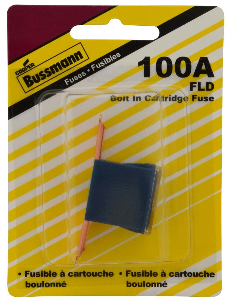 BP//FLD-100-RP Bussmann 100 Amp Bolt-on Fusible Link with 9//16 Bolt Terminal