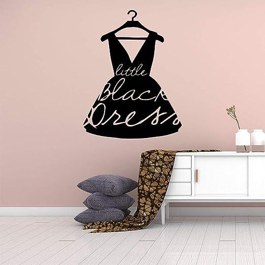 Ajcwhml Falda Negra decoración del hogar Vinilo Etiqueta de la ...