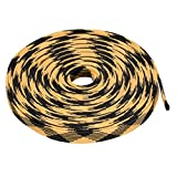 uxcell PET Braided Sleeving 32.8 Feet 10m Expandable Cable Wrap 12mm Diameter Wire Sheath Black,Yellow