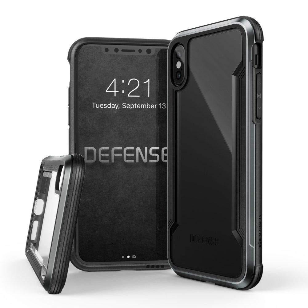 iPhone X/XS用X-Doriaケース - ブラック   B07N4JMWWY