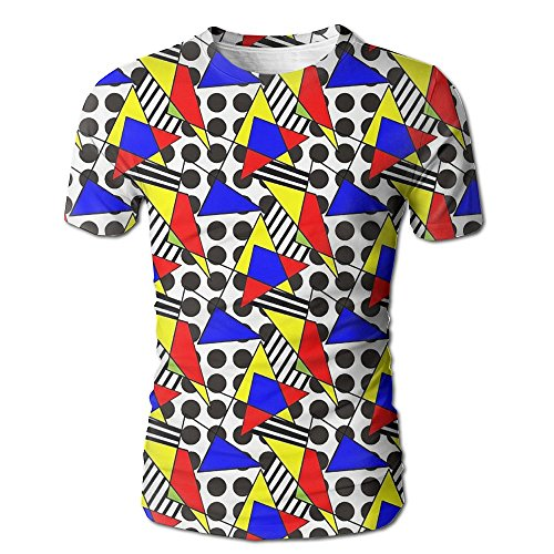 Common Graphics Unisex 3d Printed Pattern Short Sleeve T Shirt Cool Graphics Tees Tops 100% Polyester