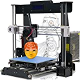 Win-Tinten A8 Madera Upgrade High Precision 3D Printer Reprap Prusa I3 DIY Kits Marco Impresión Tamaño 220 * 220 * 240 mm Tamaño de Impresión (A8 Madera Impresora 3D)