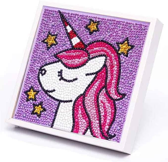 Easy Kids Room Decoration Ideas Diamond Embroidery Kit Hug A Pug with Frame Kids Crafts Diamond Dotz