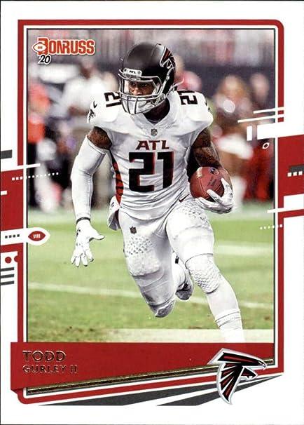 2020 Score #302 Todd Gurley II Los Angeles Rams Football Trading Card