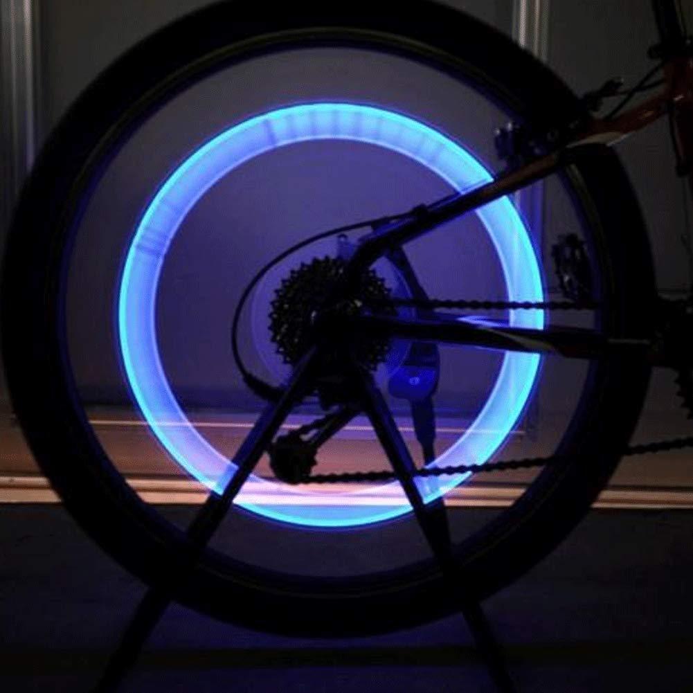 Shi Ran 8 pcs LED Ventil Kappen,Reifen Rad Lichter Reifen Ventilkappe Licht , f/ür Fahrrad Motorrad oder Auto.
