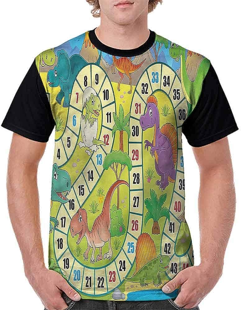 BlountDecor Unisex T-Shirt,Circus Themed Design Fashion Personality Customization