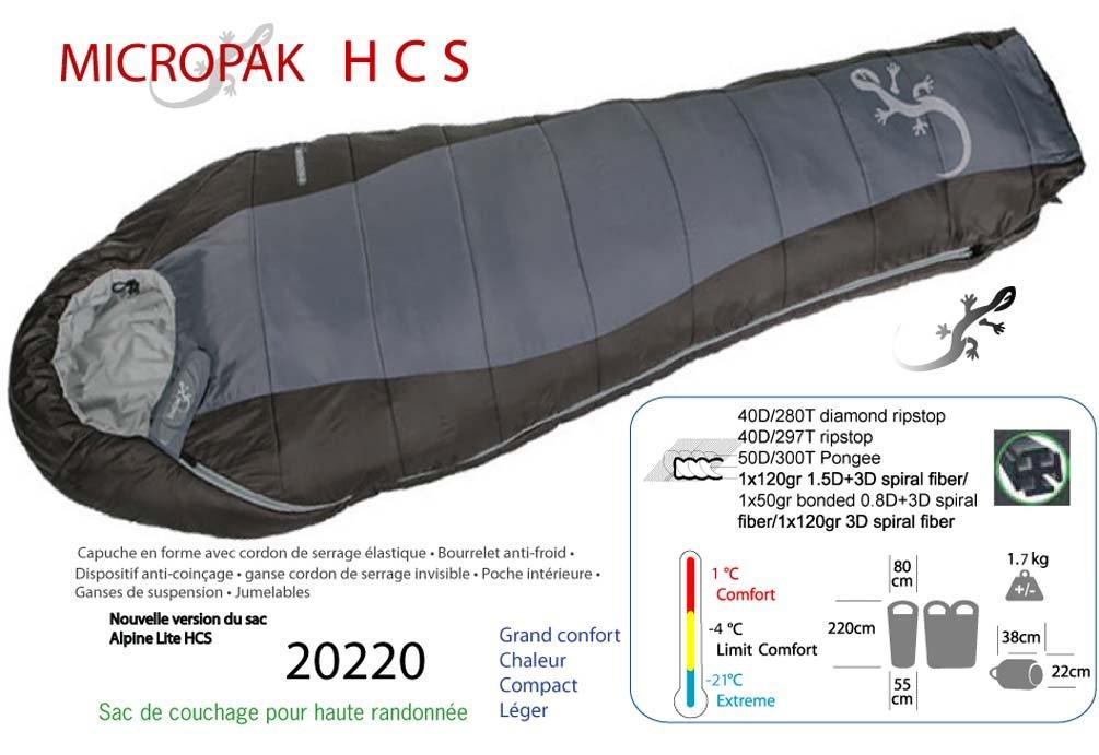 Freetime Micropak hcs a 21 °C .Sac de dormir de montaña, sacos de dormir de plumón grandes fríos: Amazon.es: Deportes y aire libre