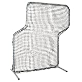 Champion Sports Z Baseball Pitching Screen, Silver
