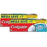 Colgate Active Salt Toothpaste Natural Saver Pack - 300 g (Pack of 2)