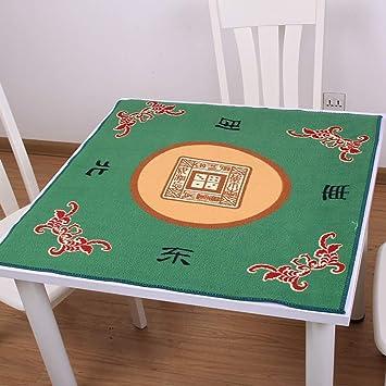 NuoEn Mahjong Mat Poker: Cubierta de Mesa para póquer, Juegos de ...