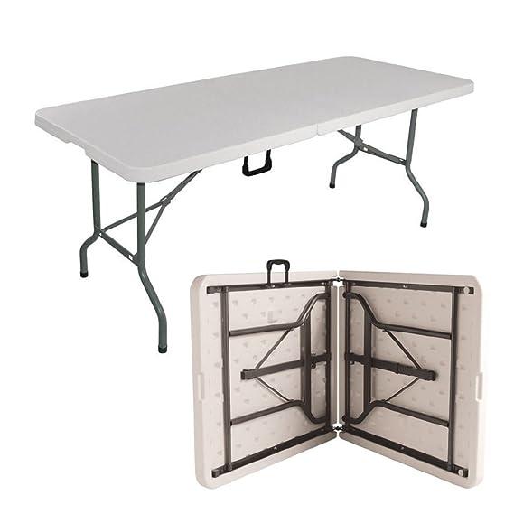 Denny internacional® 1.8 m Heavy Duty caballete plegable mesa para ...