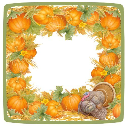 Thanksgiving Paper Plates Turkey Table Decorations Dessert Plate Pk 16