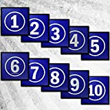 #10: Tyro Blue Activity Mat Pack (Numbers 1-10)