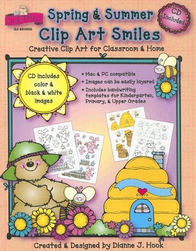 Spring & Summer Clip Art Smiles: Creative Clip Art for Classroom & Home