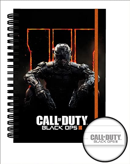 Cuaderno A5 Premium Call Of Duty Black Ops 3