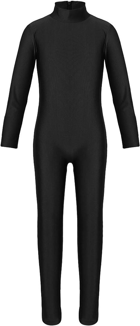 Girls Gymnastics Leotard Ballet Dance Full Body Suit Jumpsuit Dancewear Costume