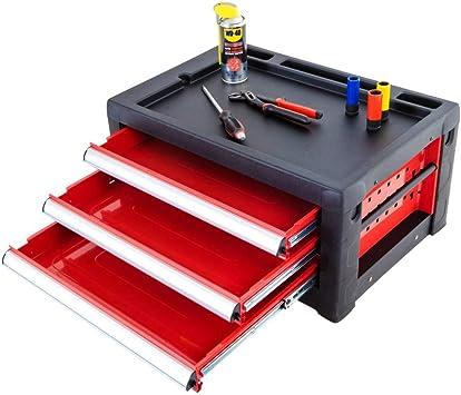 Caja de herramientas vacía de Ragnor ?Red Edition? con 3 cajones ...