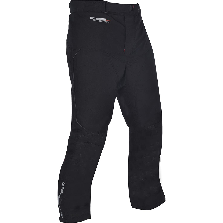 Oxford TM3613XL Subway 3.0 Motorcycle Trousers 3XL Tech Black Short