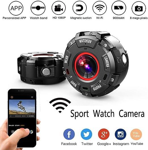 ADHOSJO Pulsera cámara Oculta Mini cámara G600 Impermeable ...