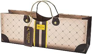 Cakewalk Mocha Wine Purse Bag, Multicolored,