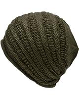 ニット帽 コットン ニットキャップ リブ & スクリュー編み 帽子屋そら メンズ レディース ニットワッチ