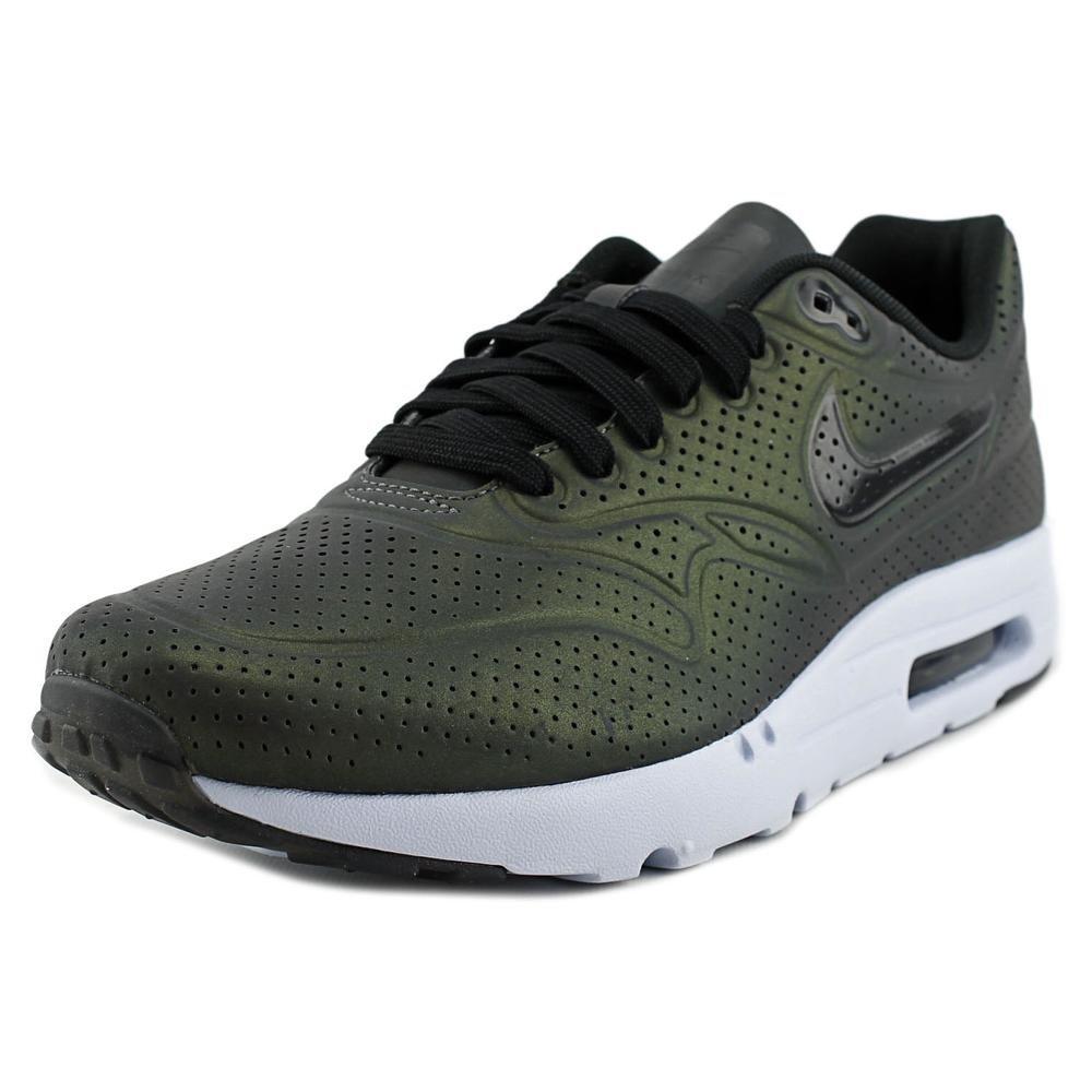 Nike Air Max 1 Ultra Moire QS, Zapatillas de Running Para Hombre 42 EU|Gris / Blanco / Negro (Deep Pewter / Black-porpoise)