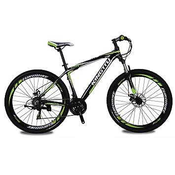 Kingttu® 2016 Green Black GTR 17 X 27.5 in Mans Mountain Bike ...
