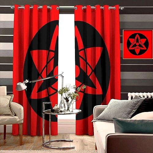 DearestLove Naruto Blackout Curtains/Drapes/Panels,Unique Curtains Review